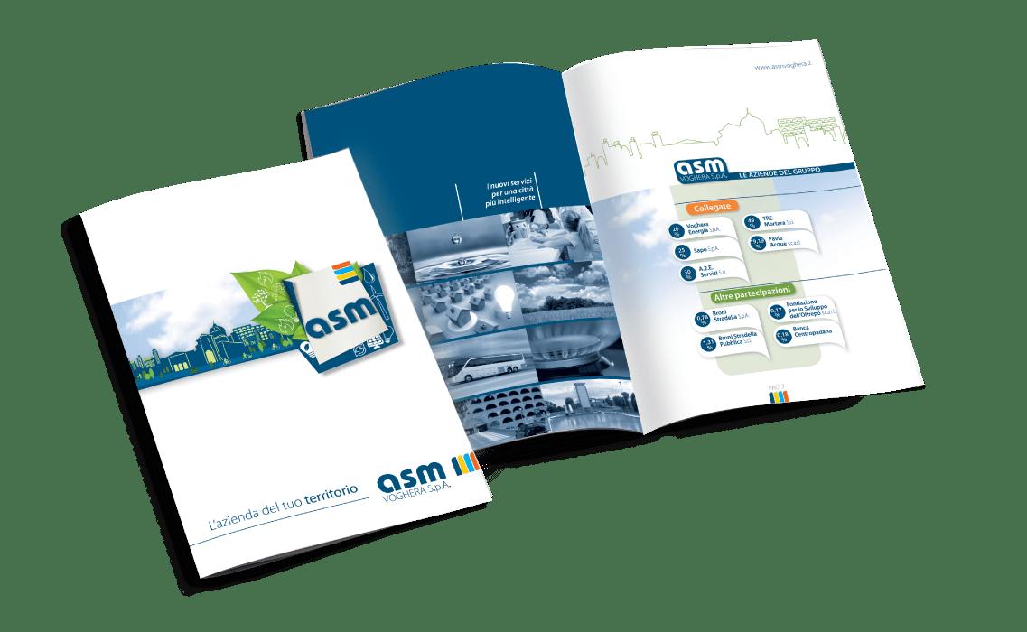 Brochure istituzionale per ASM Voghera