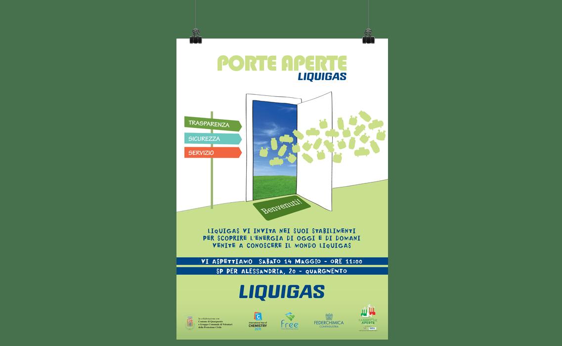 """ADV """"Porte Aperte"""" per Liquigas"""