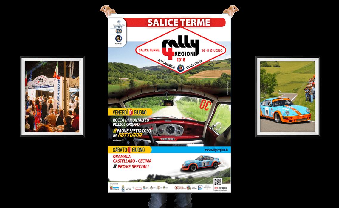 Comunicazione Rally 4 Regioni di Salice Terme